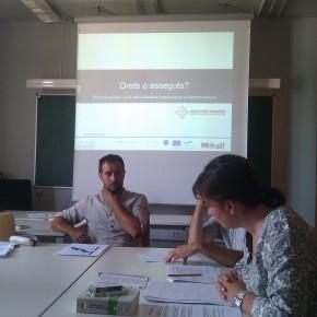 1ª sesión de formación en Tarragona